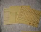 Scrapbooking Altered Art ATC Library 10 Cards Ledger Ephemera Holtz tag