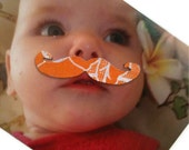 6 Moustache Magnets - Add Some Style to your Photos - Geekery Moustache by Anatolia Magnets