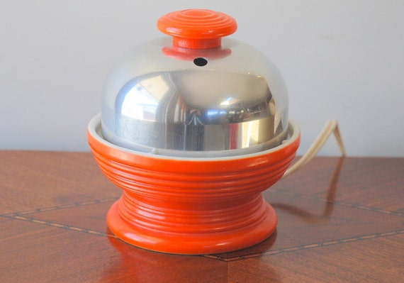 SALE Hankscraft Electric Egg Cooker, Orange