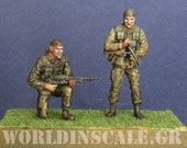 Historical Miniatures  Seals Figures from Vietnam War 1 35th scale- FREE SHIPPING