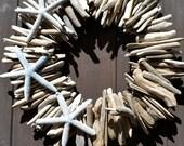 Driftwood Sunburst Star Wreath