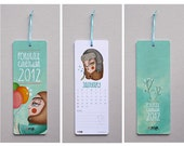 2012 wall calendar portrait illustrations