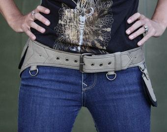 Western Belt - Buckle - Hip Bag - Belt Bag - Hip Pack - Utility Hip Belt  [Festival.Travel.Concert.Riding]