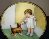 The Reward 2nd Issue in A Child's Best Friend, Plate