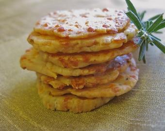 Homemade Italian Cheese Crackers