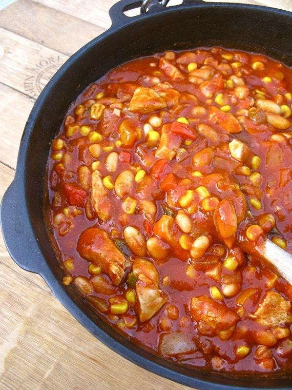 My Southwest Chicken Chili
