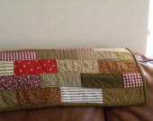 modern handmade country patchwork quilt