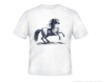 Gorgeous Horse Stallion Adult Tshirt - Sizes S-5XL