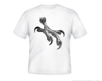 Vintage Eagle Talon Illustration on Adult Tshirt  -- other tshirt color and personalization available - adult sizes S-3XL