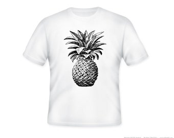 Gorgeous Pineapple Tshirt  S to 5XL -  Tee color selection and personalization available