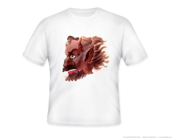 Vintage Demon Astaroth T-Shirt -- Adult sizes S-5XL (4XL-5XL requires custom listing)
