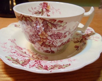 Booths Washington Pattern Cup and Saucer