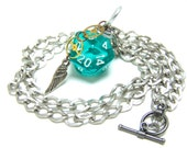 d20 Clockwork Angel's Charm