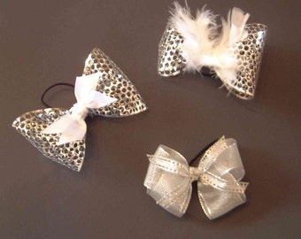 Tap Shoe Bows - One Pair - Dance Accessory