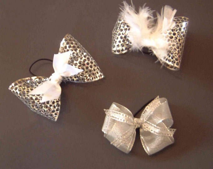 Pair of Tap Shoe Bows - Dance Accessory