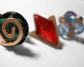 Zelda Spiritual Stone Pin Set