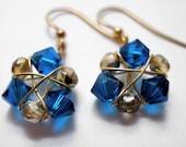 Zelda's Zora Sapphire Earrings
