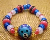 Custom Bear Kandi Bracelet