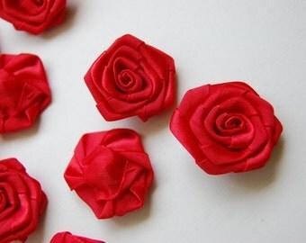 Dozen Satin Rosebuds