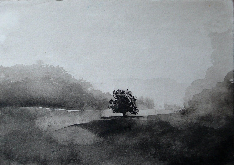 Dark Lonely Paintings
