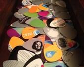 Recycled Guitar Picks - Random 10 Pack
