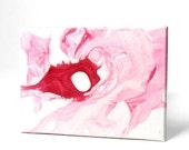 "Avant Garde Art Original 8""x11"" Emulsion Painting Item - 015"