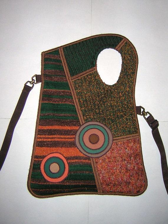 Free Crochet Pattern For Cross Body Bag : Knit Cross Body Bag Pattern - Mini Crossbody Bag