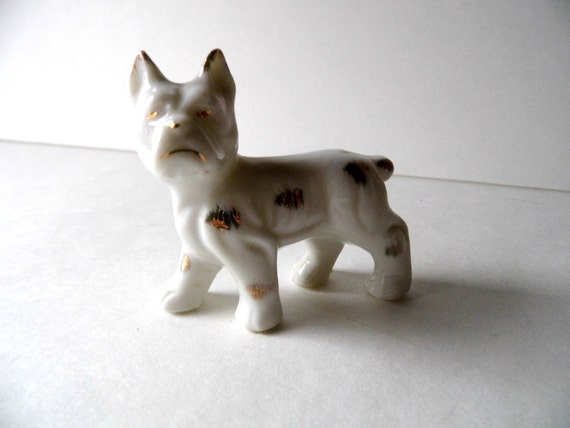 Miniature Knick Knack Boxer Dog Made in Japan for Knick Knacks Shelf ...
