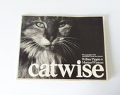 Catwise Paperback Book-Photos with Comments-First Edition