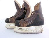 Retro Riedell Hockey Skates, Boys