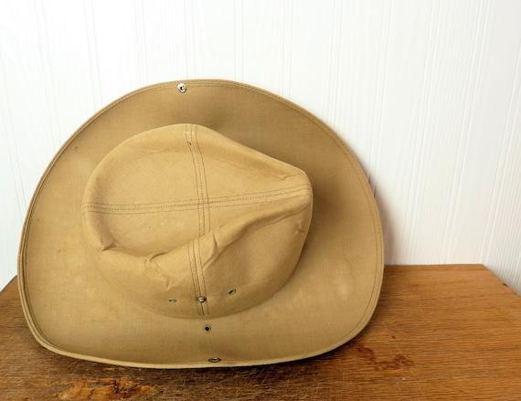 Vintage Impercork Safari Hat, made in France, sold in Johannesburg, Africa