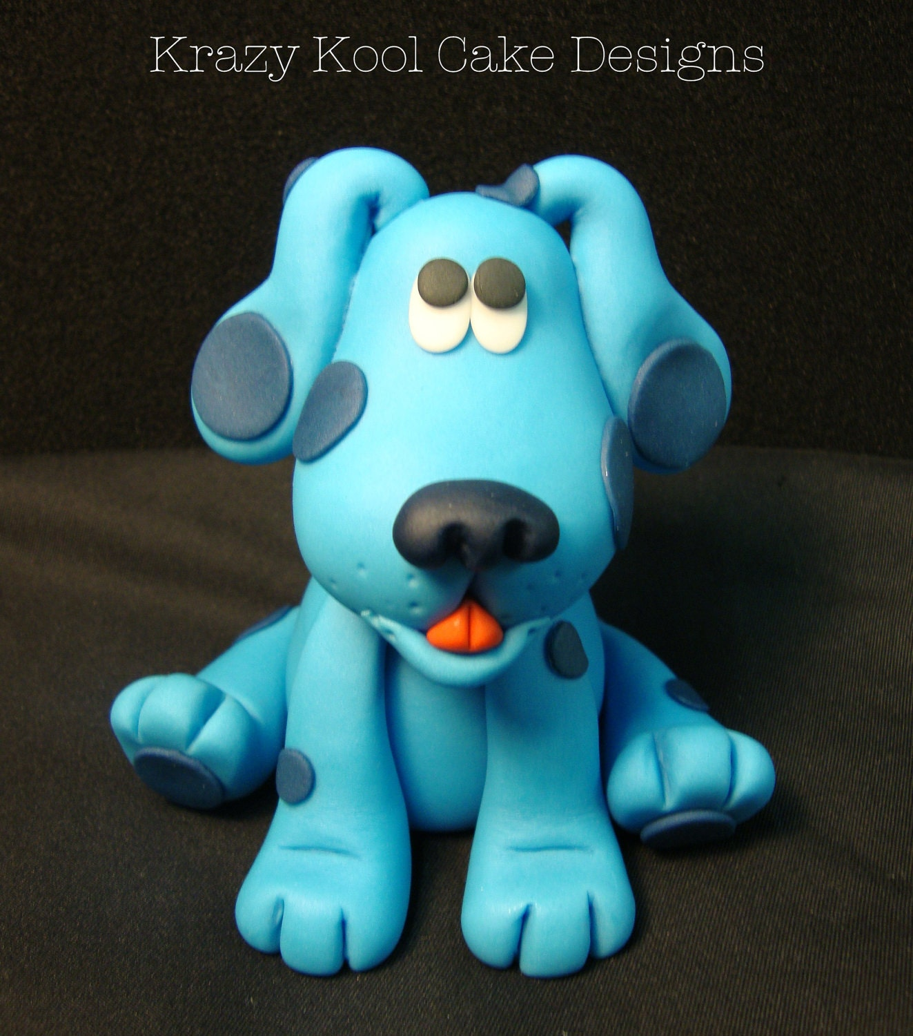 Blues Clues Birthday Cake Blue's Clues Cake Topper