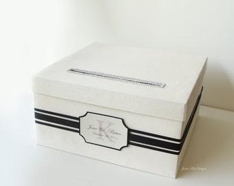 Wedding Card Box Gift Card Box  Money Holder - Custom Card Box