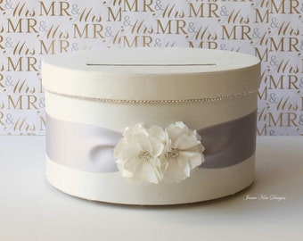 Wedding Card box Gift Card Money Box  - Choose your own colors