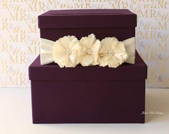 Wedding Card Box Money Box - custom made to order