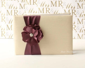 wedding guestbook/ sign in book