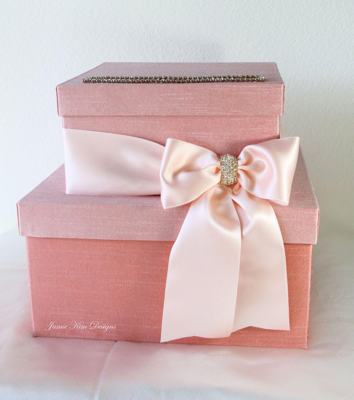 Money Holder Wedding Card Ideas: Wedding Card Box Money Holder For Mercedes By Jamiekimdesigns