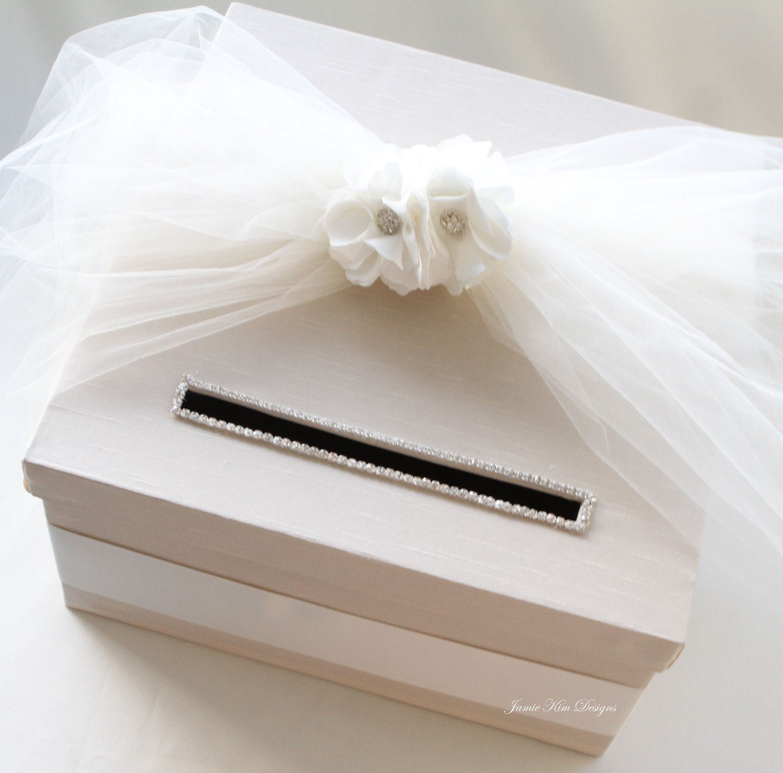 Wedding Card Box: Wedding Card Box Money Box Gift Box Gift Card By