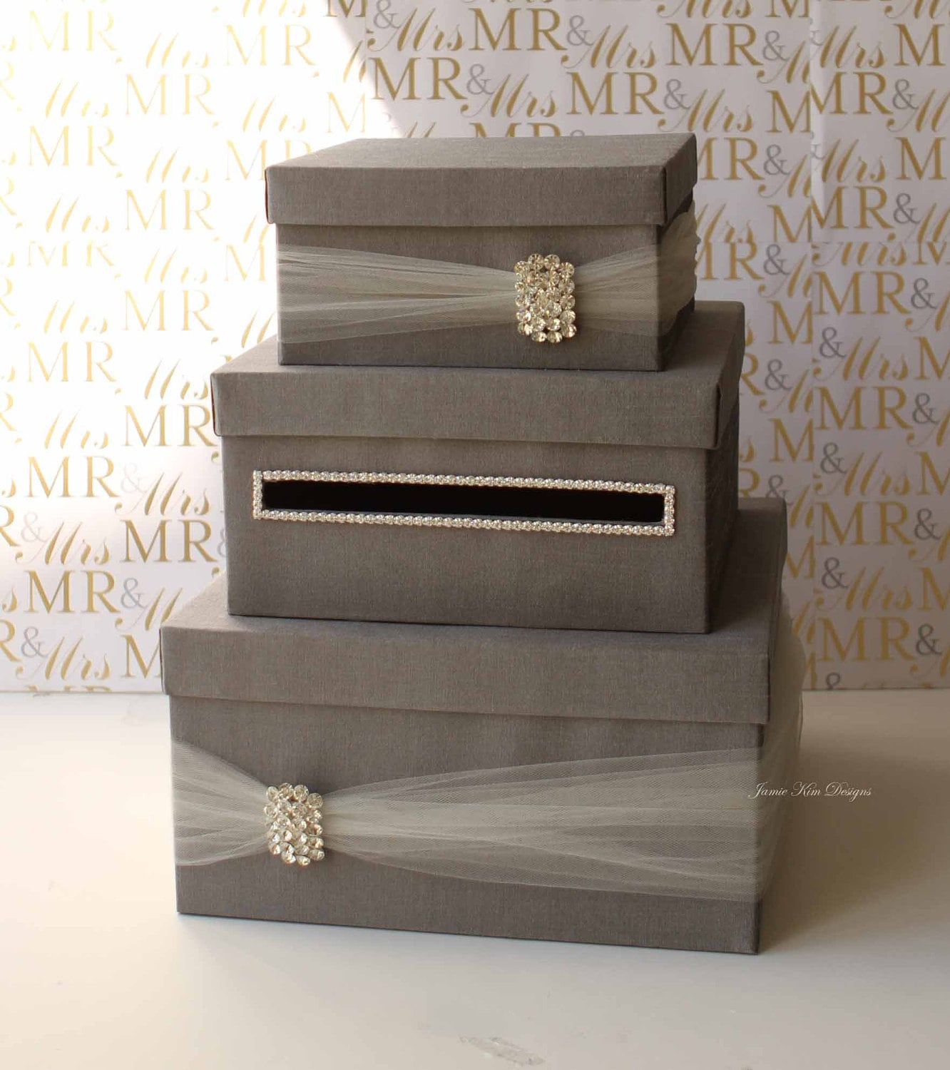 Wedding Money Box: Wedding Card Box Money Box Wedding Gift Card Money Box