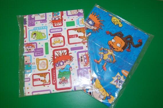Nikelodeon Rugrats Gift Wrap Set / Craft Paper