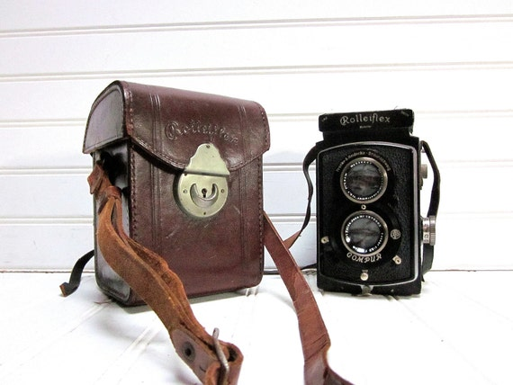"Vintage Camera Rolleiflex Model 622 ""Old Standard"" Franke & Heidecke TLR Medium Format 120 Film Camera"