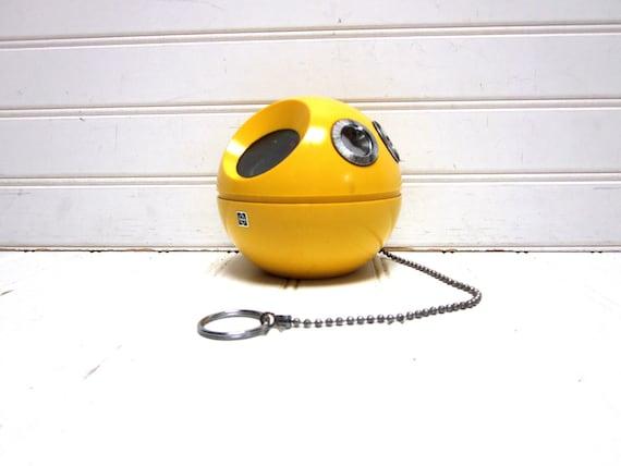 RESERVED for Jenny -- Vintage Radio Yellow Panasonic Panapet R 70 AM Transistor Radio