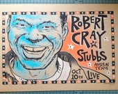 "original Robert Cray blues screenprinted gigposter 13""x19"" by Grego from mojohand.com"