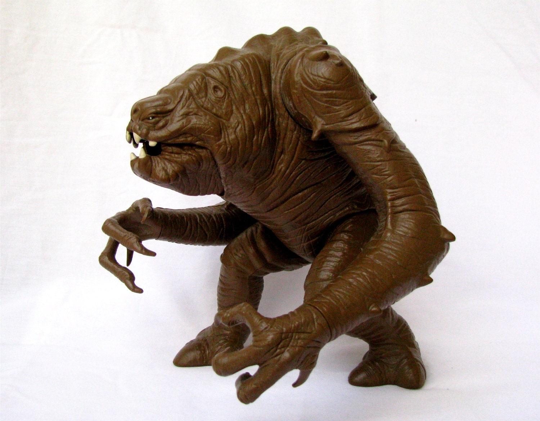 Vintage Star Wars Action Figure Rancor Monster 1983 Rancor Monster