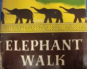 Elephant Walk by Robert Standish - 1st American Edition