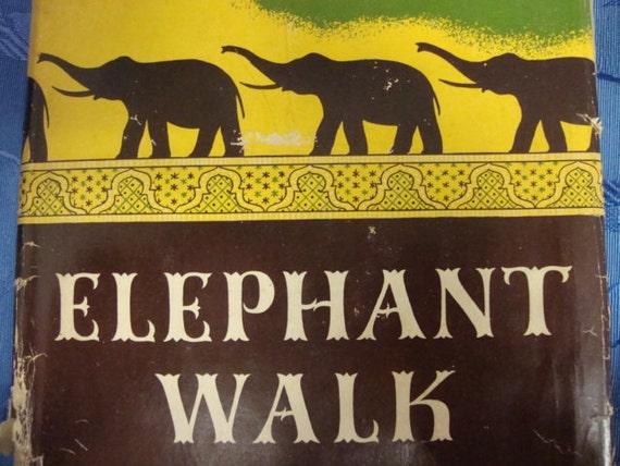 Elephant Walk by Robert Standish - 1st American Edition