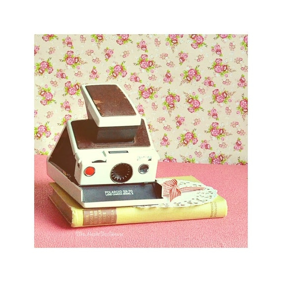 For Sale, Polaroid Sx 70 Camera Model 2, White UNTESTED