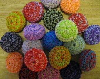 Multi-Colored Nylon Scrubbies