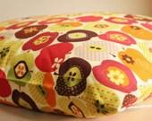 Delicious Red Apple Print SINGLE Cotton Pillowcase