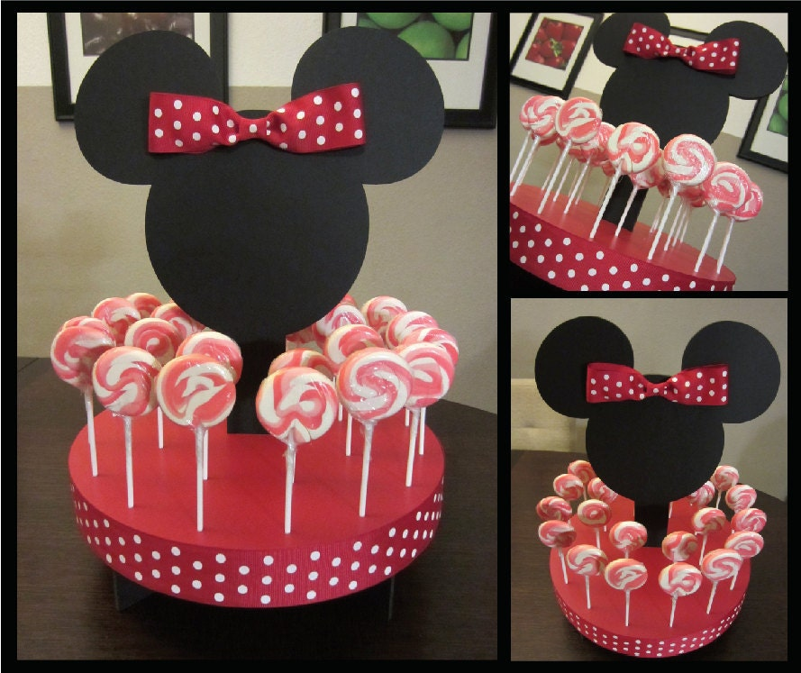 Minnie Mouse Cake Pop Stand